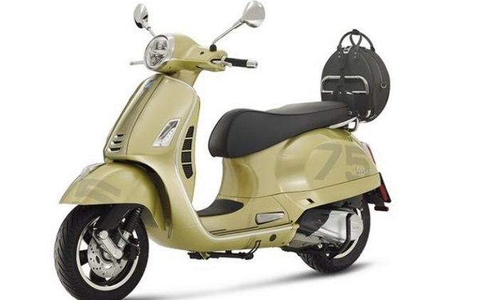 Vespa 75th Anniversary Limited Edition. Foto: mgronline