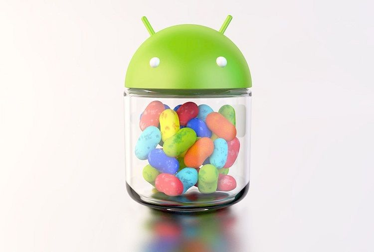 Ilustrasi Android Jelly Bean./androidcentral.com